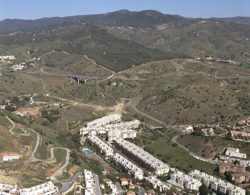 Sierra de Grazalema desde las Colinas del Limonar