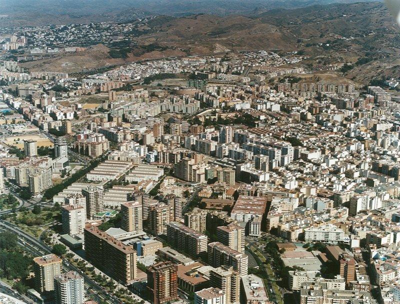 Vista aérea Bailén-Miraflores