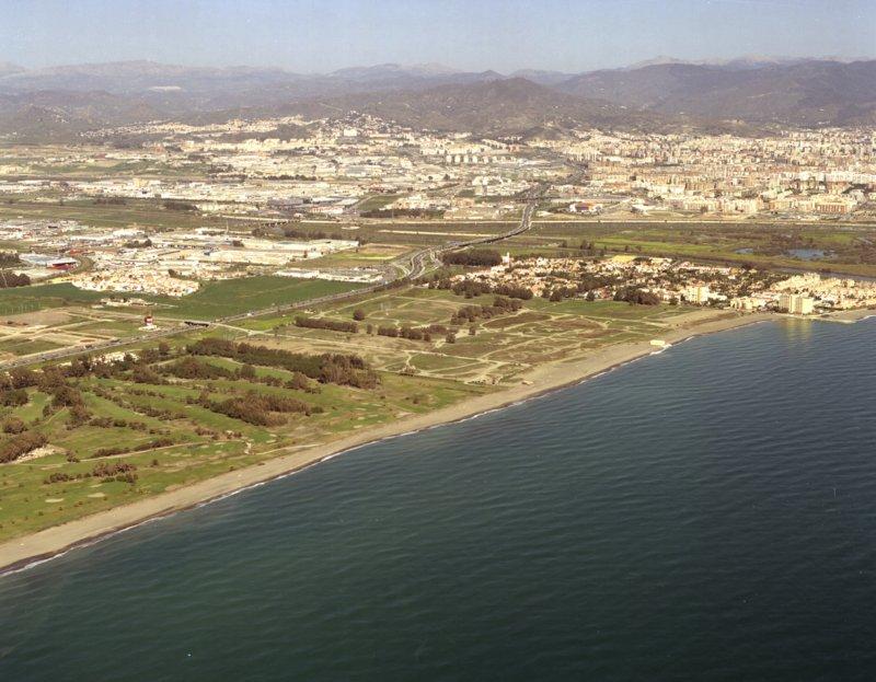 Campo de golf en Guadalmar