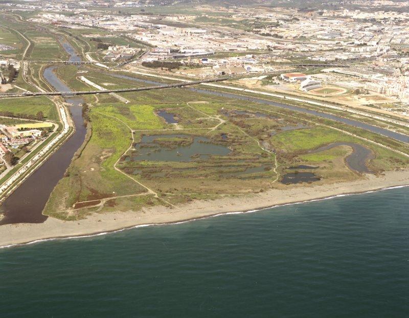 Desembocadura del rio Guadalhorce