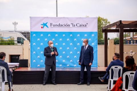 """COVID-19 514 / LA FUNDACIÓN """"LA CAIXA"""" Y CAIXABANK DONAN A LOS COMEDORES SOCIALES DE MÁLAGA 82.200 EUROS EN COLABORACIÓN CON EL AYUNTAMIENTO"""