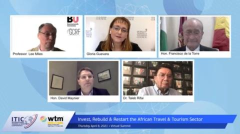 DE LA TORRE PARTICIPA EN LA CUMBRE VIRTUAL DE TURISMO DE ÁFRICA, ORGANIZADA POR INTERNATIONAL TOURISM AND INVESTMENT SUMMIT Y WORLD TRAVEL MARKET AFRICA