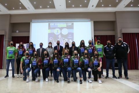 PRESENTACIÓN DE LA FINAL DE LA COPA EHF DE BALONMANO FEMENINO