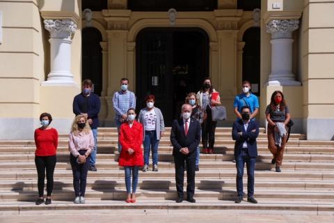MINUTO DE SILENCIO EN MEMORIA DE LA ÚLTIMA VÍCTIMA MORTAL DE LA SINIESTRALIDAD LABORAL EN LA CIUDAD