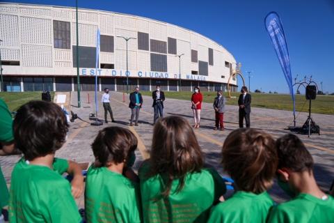ADHESIÓN DE CLUB DE SAN JULIÁN, LA MOSCA Y PUERTA BLANCA A LA PLATAFORMA 090