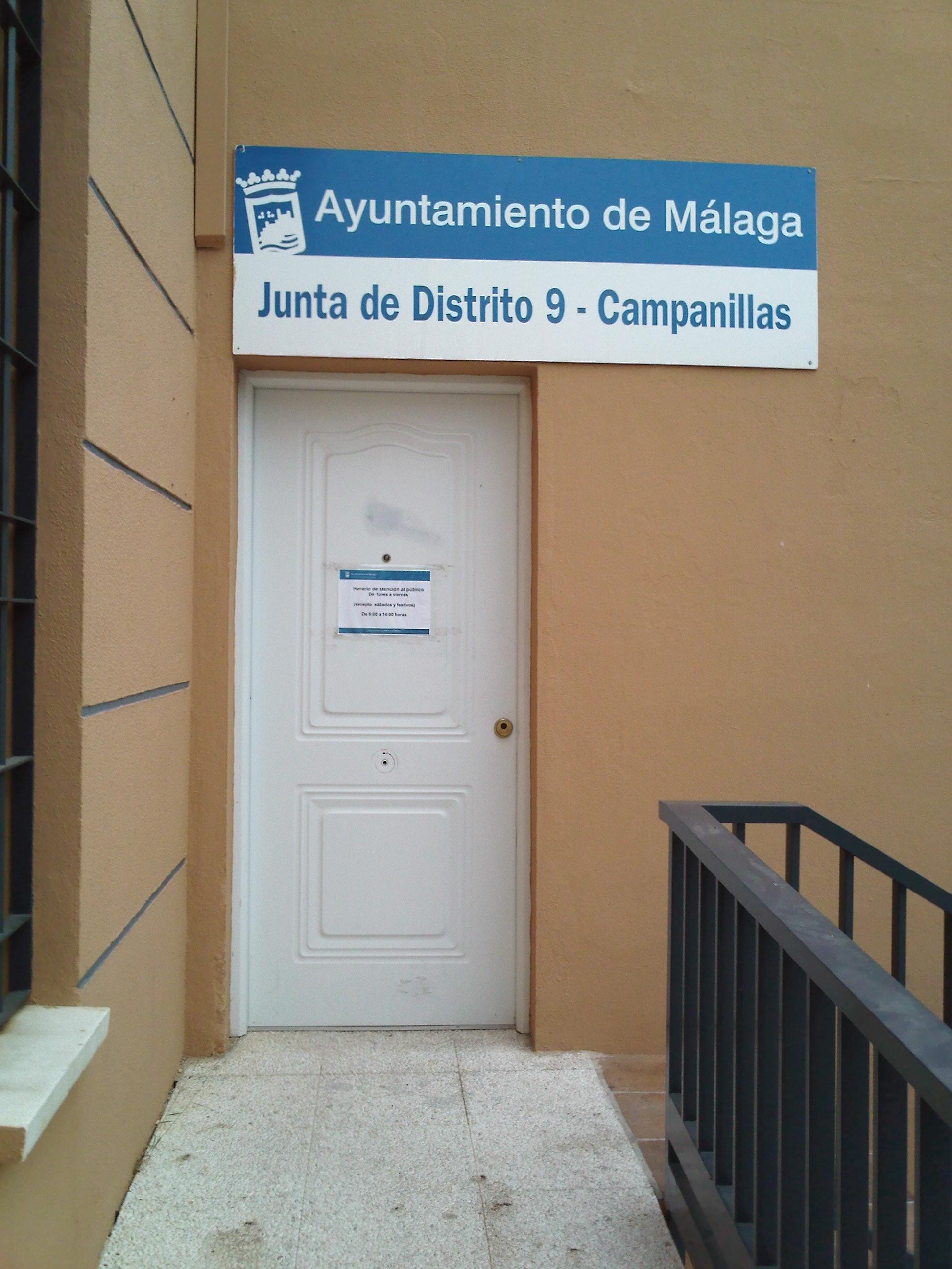 Oficina Municipal de Atención a la Ciudadanía (OMAC 9 - Campanillas)