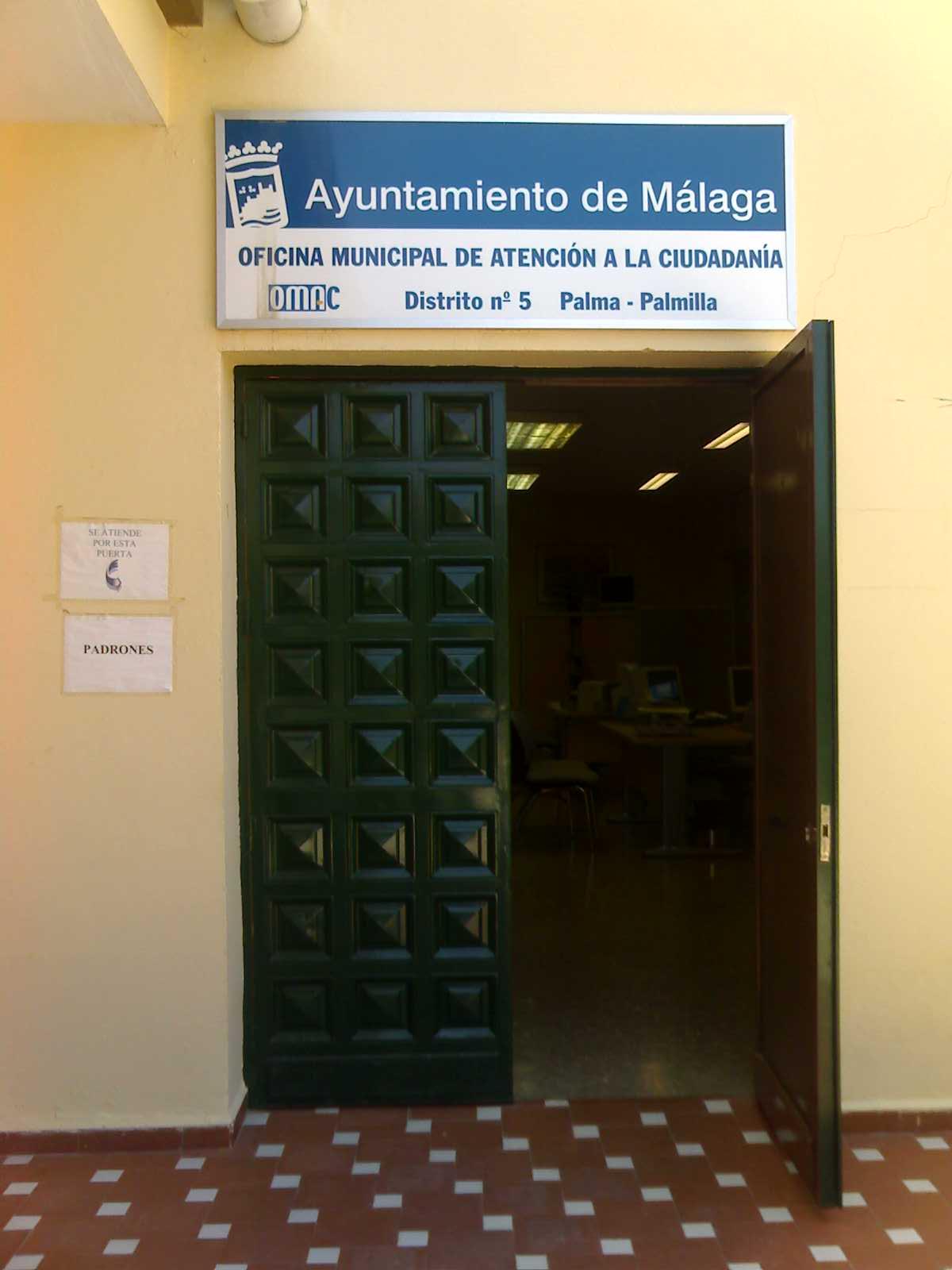 Oficina Municipal de Atención a la Ciudadanía (OMAC 5 - Palma Palmilla)