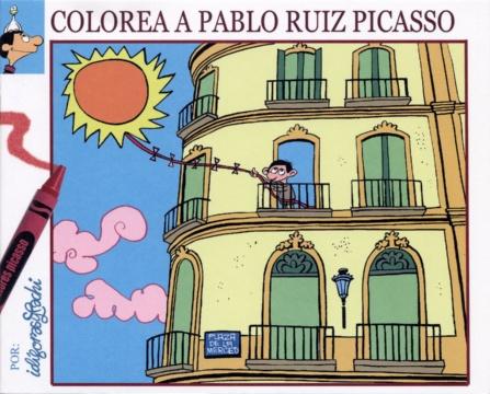 COLOREA A PABLO RUIZ PICASSO