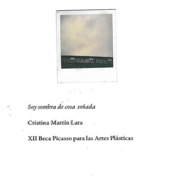 12ª BECA PICASSO PARA LAS ARTESPLÁSTICAS (CRISTINA MARTÍN LARA: SOY SOMBRA DE COSA SOÑADA)